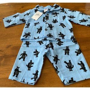Target Pyjamas Printed Bear